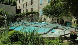abri de piscine amovible