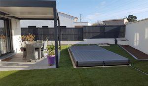 terrasse mobile fermée
